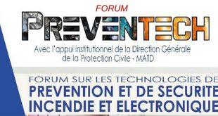 Forum sur les technologies de prévention et de sécurité incendie et électrique PREVENTECH 2021 du 20 au 22 mai à Ouagadougou