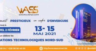 WORLD Africa Startups Summit du 13 au 15 mai 2021 à Lomé