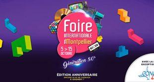 Foire Internationale de Montpellier prévue du 08 au 18 Octobre 2021