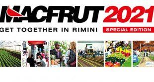 10éme édition du Salon des professionnels des légumes et des fruits « Macfrut 2021 » du 07 au 09 Septembre 2021 au Centre des expositions de Rimini en Italie